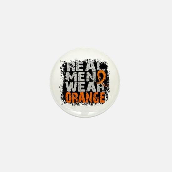 Real Men MS Mini Button