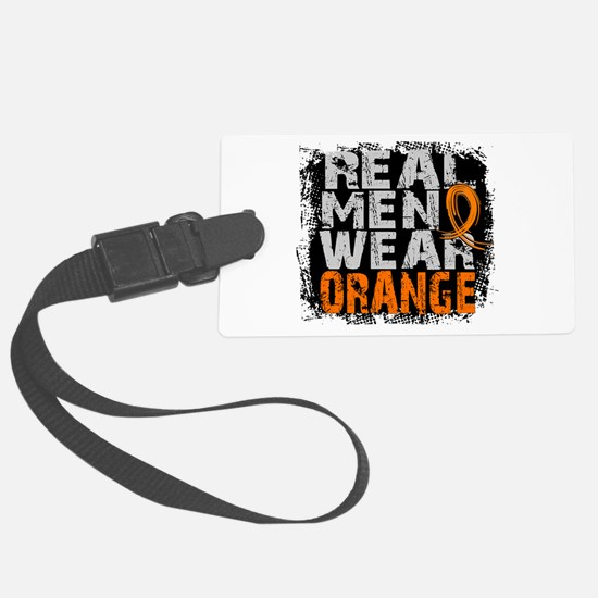 Real Men MS Luggage Tag