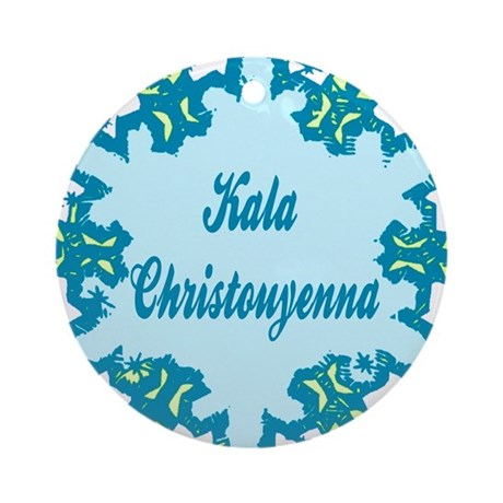 Kala Christonyenna Ornament (Round)