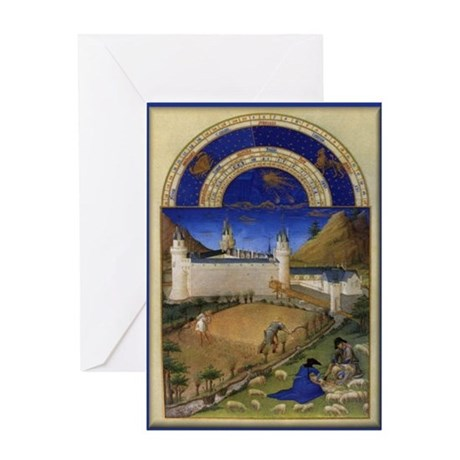 The Castle In July Greeting Cards