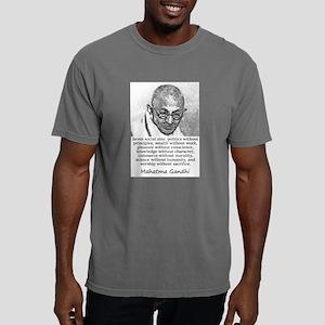 Seven Social Sins - Mahatma Gandhi Mens Comfort Co