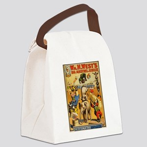 circus Canvas Lunch Bag