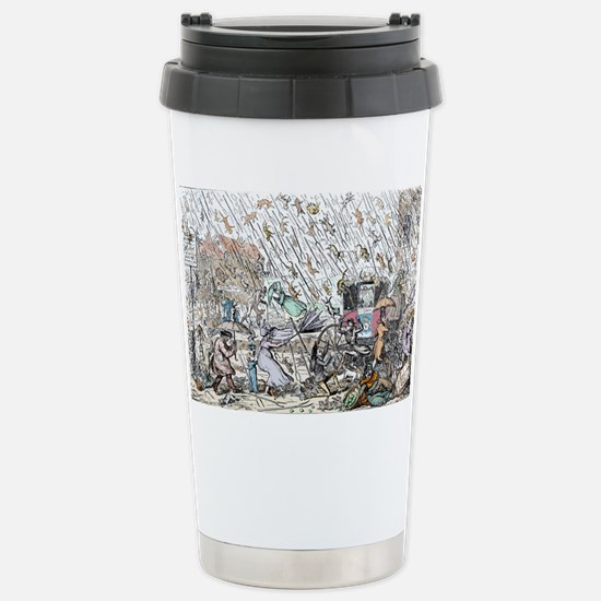 Raining cats and dogs - Stainless Steel Travel Mug