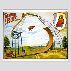 barnum bailey Small Poster