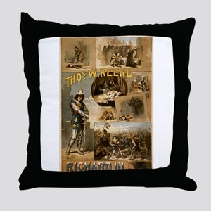 richard III Throw Pillow