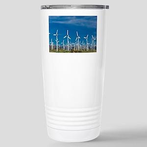 Wind turbines - Stainless Steel Travel Mug