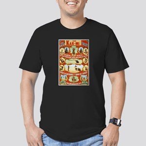 vaudeville Men's Fitted T-Shirt (dark)