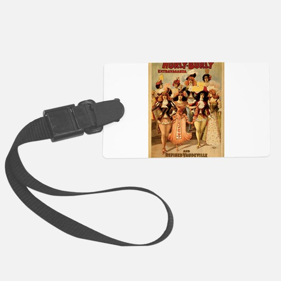 vaudeville Luggage Tag