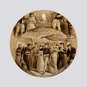 gilbert and sullivan Ornament (Round)