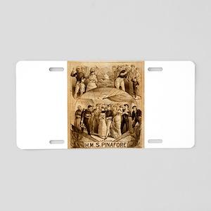 gilbert and sullivan Aluminum License Plate