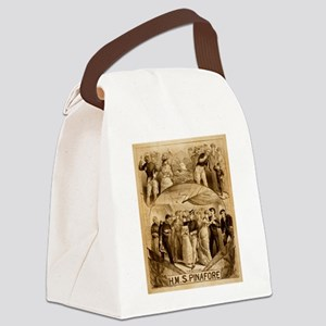 gilbert and sullivan Canvas Lunch Bag