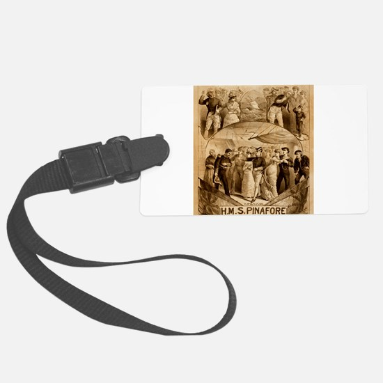 gilbert and sullivan Luggage Tag