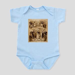 gilbert and sullivan Infant Bodysuit