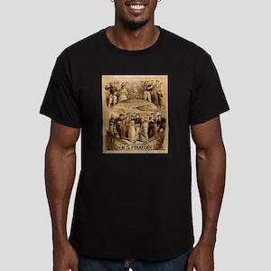 gilbert and sullivan Men's Fitted T-Shirt (dark)
