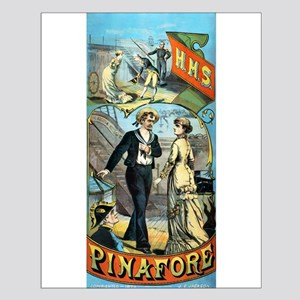 gilbert and sullivan Small Poster