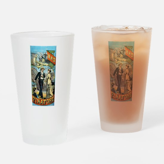 gilbert and sullivan Drinking Glass