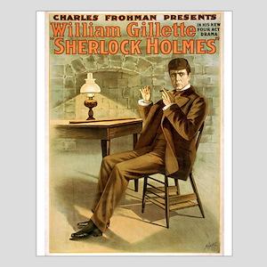 sherlock holmes Small Poster