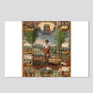agriculture Postcards (Package of 8)