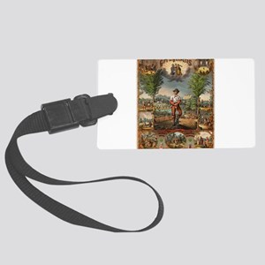 agriculture Large Luggage Tag