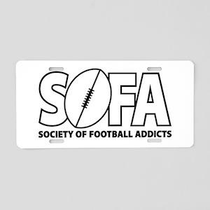 SOFA logo Aluminum License Plate