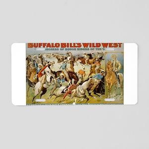 buffalo bill Aluminum License Plate