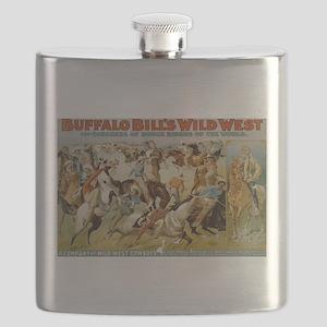 buffalo bill Flask