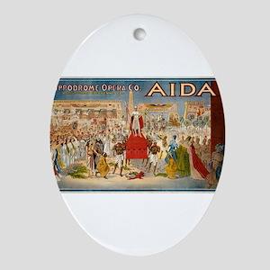 aida Ornament (Oval)