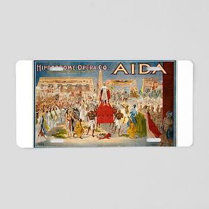 aida Aluminum License Plate