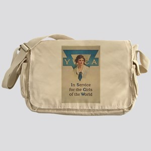 young women Messenger Bag