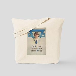 young women Tote Bag