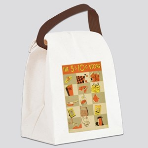 store ad Canvas Lunch Bag