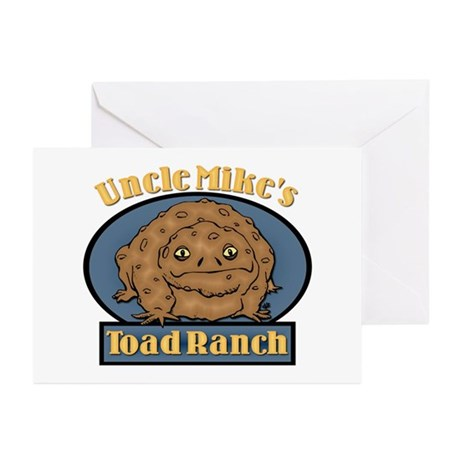 Uncle Mike's Toad Ranch Greeting Cards (Package of