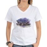 The Woods V Women's V-Neck T-Shirt