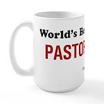 World's Best Pastor Large Mug
