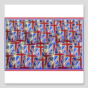 Great Britains Union Jjack Tableau mottled Square