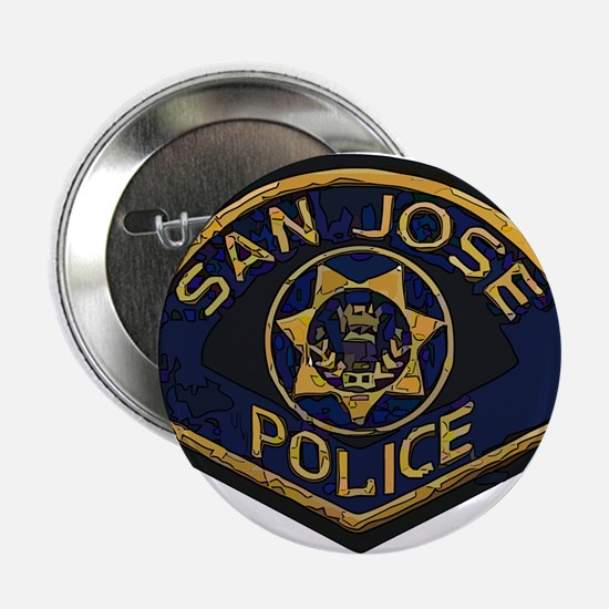 "San Jose Police patch 2.25"" Button (10 pack)"