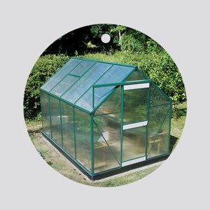 Polycarbonate greenhouse - Round Ornament