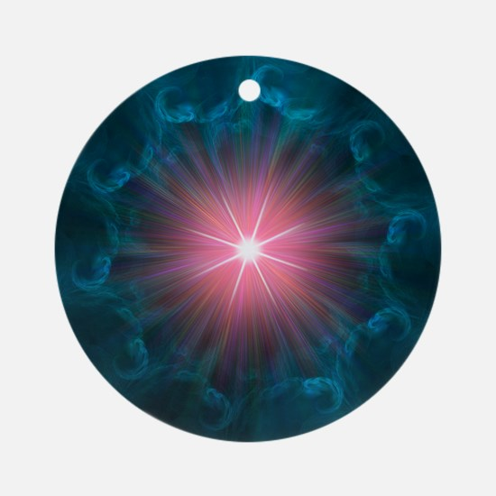 Big Bang, conceptual artwork - Round Ornament