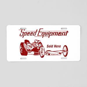 Speed Equipment sold here-4 Aluminum License P