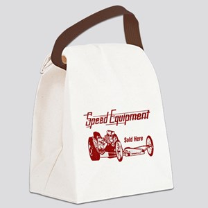 Speed Equipment sold here-4 Canvas Lunch Bag