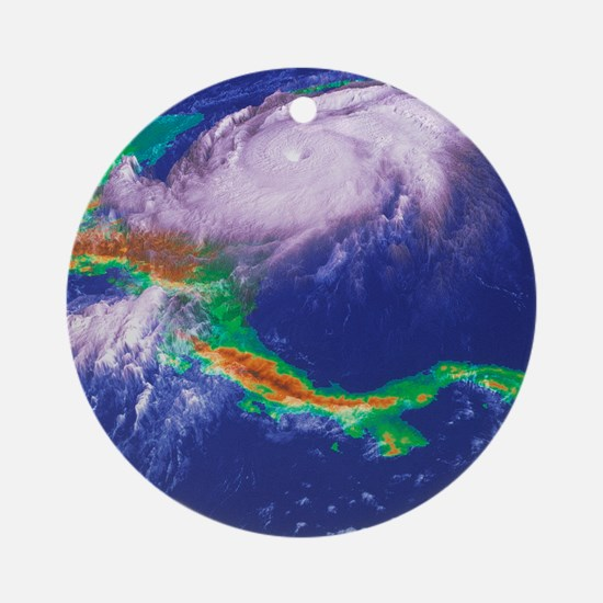 Hurricane Mitch - Round Ornament