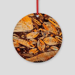 Limestone - Round Ornament