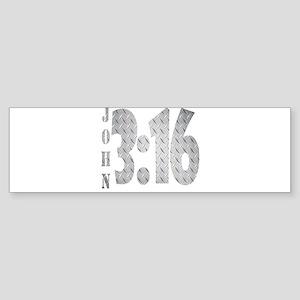 John 3:16 Sticker (Bumper)