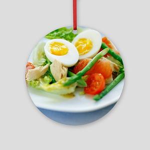 Salad - Round Ornament