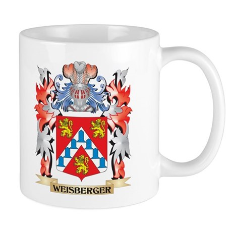 Weisberger Coat of Arms - Family Crest Mugs