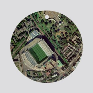 Chelsea's Stamford Bridge stadium, aerial - Round