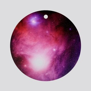 Emission nebula - Round Ornament