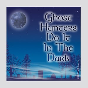 """GH's Do It In The Dark"" Tile Coaster"