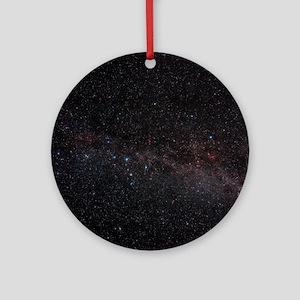 North celestial pole - Round Ornament