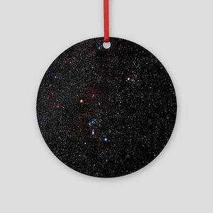 Orion constellation - Round Ornament